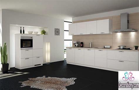 20 White Kitchens With Dark Floors Ideas   Kitchen