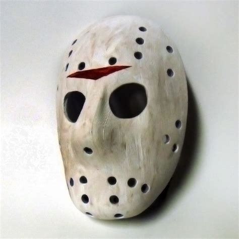 printable jason voorhees mask 3d printable jason mask full size by alan stanford