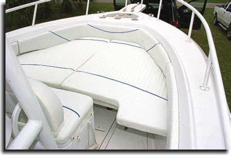 triumph boat bow cushion welcome to catalina custom upholstery showcase gallery