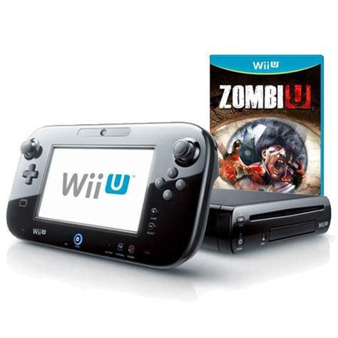 vendo wii u premium zombiu consola wii u premium pack negra 32gb zombiu mando pro
