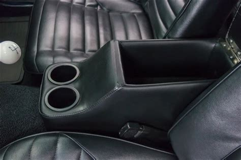 camaro rear seat cup holder 1967 1981 custom hump hugger camaro console with cup