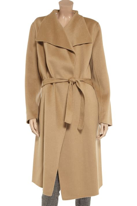 Shoo Coat lyst joseph belted wool and cashmereblend coat in