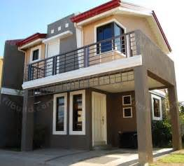 two storey house floor plan designs philippines filipino architect contractor 2 storey house design
