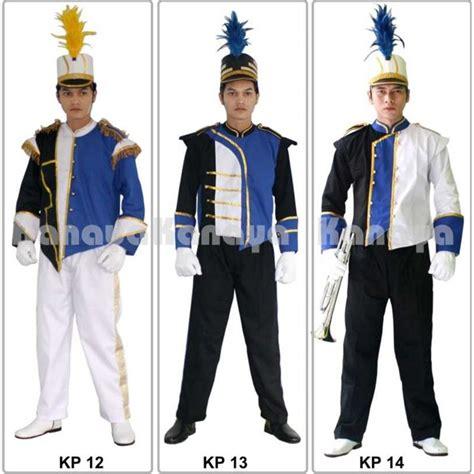 Seragam Marching Band jual kostum seragam drum band marching band