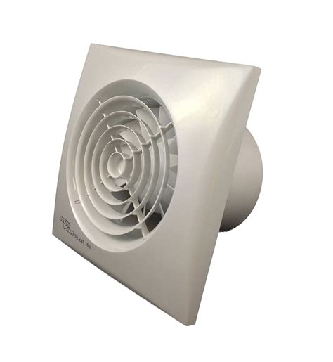 envirovent bathroom extractor fans envirovent sil100t silent 100mm white extractor fan for