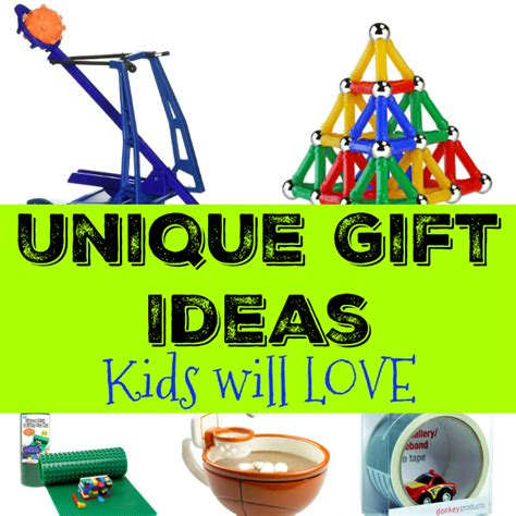 Unique Gift Idea - unique gift ideas will the joys of boys