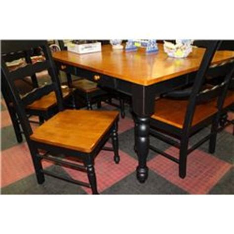 new 2 tone kitchen table w 5 chairs and 1 bench kastner