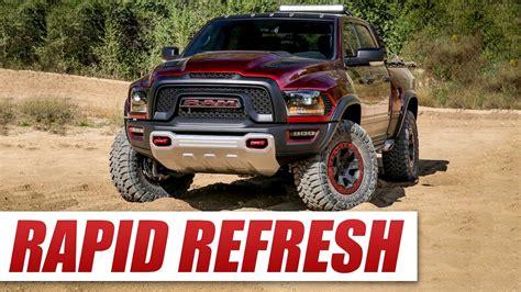 Ram Rebel Trx Vs Ford Raptor by Introducing The Ram Rebel Trx The Raptor Killer