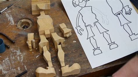 making wooden marionettes project  parts