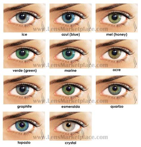 coolest eye colors best 25 color contacts ideas on color