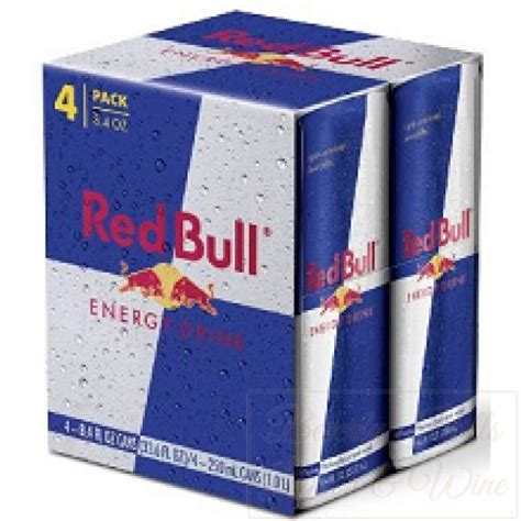 energy drink 4 pack price bull 4 pack 8 4 fl oz cans