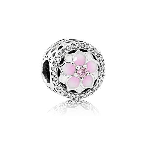 pandora charm charm roze magnolia pandora nl pandora estore