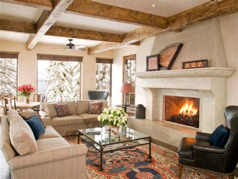fireplace in living room beat the chill 10 tips for cozy winter interiors