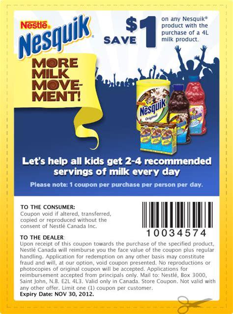grocery coupons edmonton printable nesquik coupons printable grocery coupons