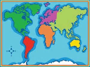 Map Of The World For Kids by 302 Found