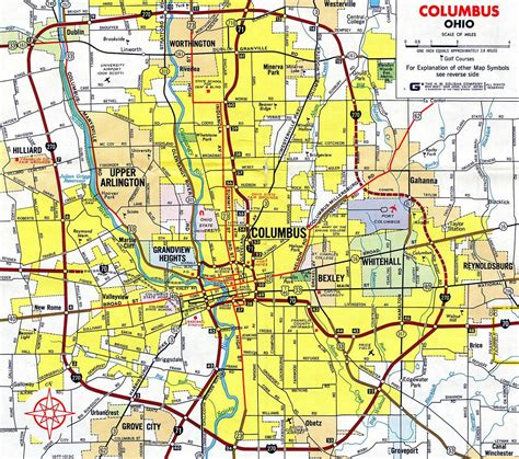 columbus ohio map usa map of 270 columbus ohio 270 columbus ohio map ohio usa