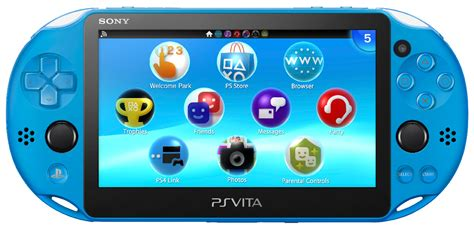 ps vita slim colors aqua blue ps vita coming to gamestop this november