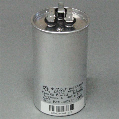capacitor for carrier condenser carrier capacitor p291 4574rs p2914574rs 38 00 shortys hvac supplies on price