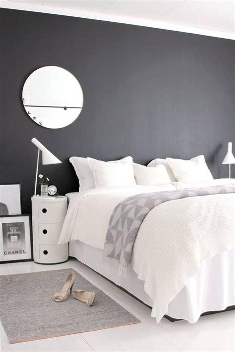 Deco Chambre Avec Lit Noir by Relooking D 233 Co Chambre En Noir Et Blanc C 244 T 233 Maison