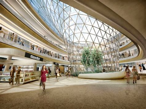 Shopping Interior Decorators by Haitang Bay International Shopping Centre By Hassell