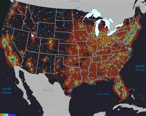 colorado light pollution map vs light pollution in the united states