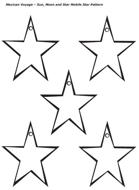 crafts stars moon template