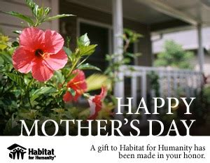 Habitat For Humanity Gift Cards - habitat for humanity gift from the heart being tazim