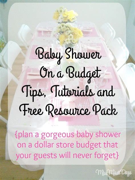 Baby Shower Favors Shopping by Baby Shower On A Budget By Shopping At The Dollar Store