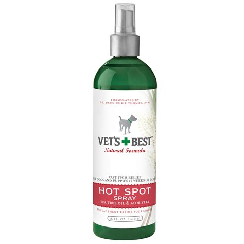 spot spray vet s best spot spray for dogs and puppies 16 oz