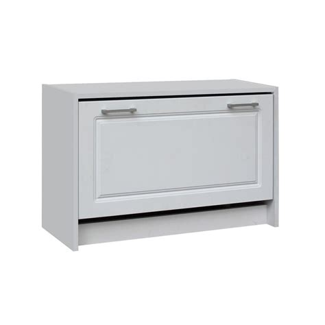home depot shoe cabinet 4d concepts 29 in w white single shoe cabinet 76457 the