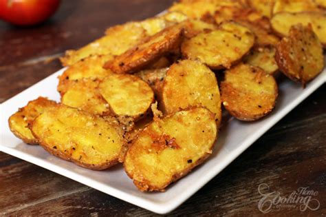 parmesan roasted baby potatoes home cooking adventure