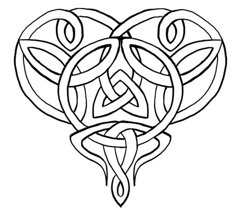 celtic heart by angelofpandemonium on deviantart