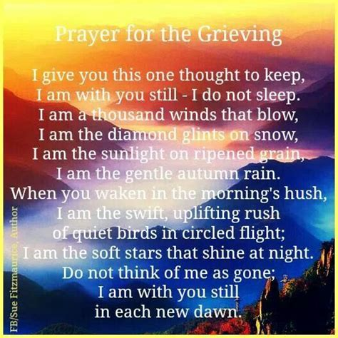 Prayer Of Comfort For The Bereaved by Prayer For The Grieving Faith Prayer And Study
