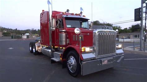 semi trucks for sale 1997 peterbilt 379 optimus prime transformer semi truck