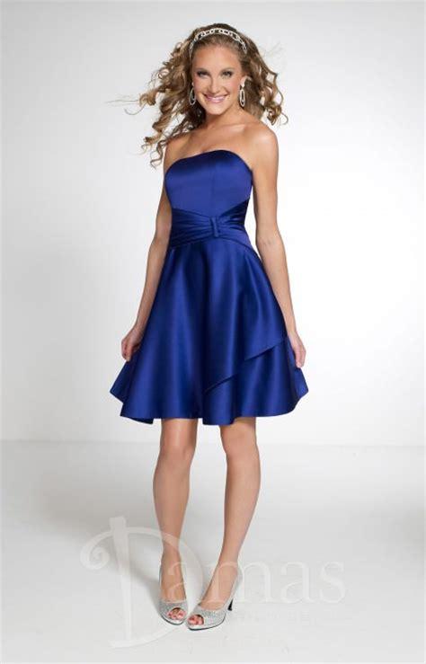 damas  sweet  satin prom dress