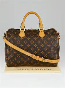 louis vuitton monogram canvas speedy bandouliere  bag