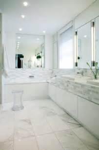 White bathroom contemporary bathroom