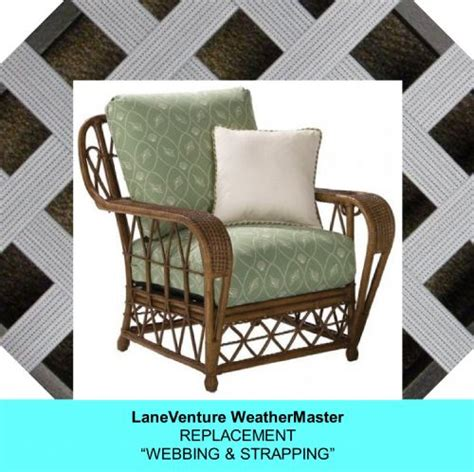 Lounge Chair Replacement Straps by Lloyd Flanders Wicker Furniture Weathermaster