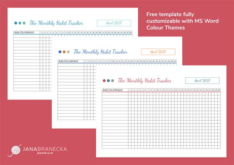The Best Daily Planner Might Not Make Your Day Better Jana Branecka Daily Habit Tracker Template