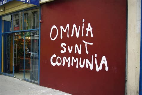 Omnia sunt communia definition of marriage