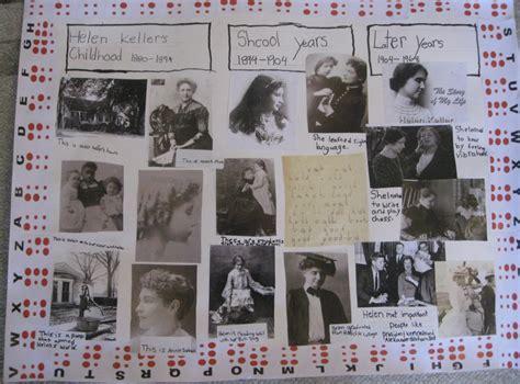 helen keller biography project my 2nd grader s report on helen keller 171 abadi access