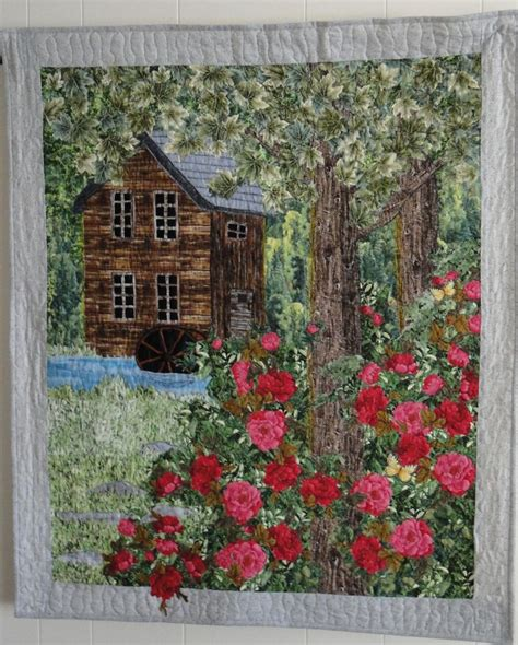 1000 images about landscape quilts on quilt
