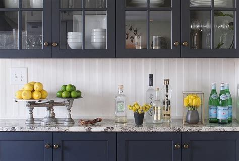 Navy Blue Kitchen Cabinets by Navy Blue Kitchen Cabinets Design Ideas