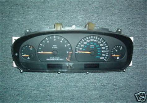 1999 2000 dodge caravan plymouth voyager aod instrument cluster speedometer tach
