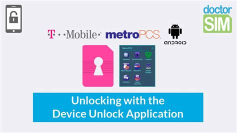 how to unlock any android phone how to unlock any t mobile or metropcs android phone with the device unlock app