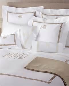Monogram Comforters Monogrammed Bedding Linens Blankets Bedding And Bath