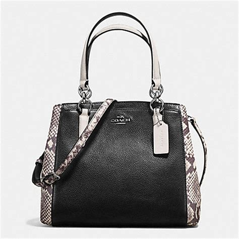 Coach Keisey Snake Embosed coach f57557 minetta crossbody with snake embossed