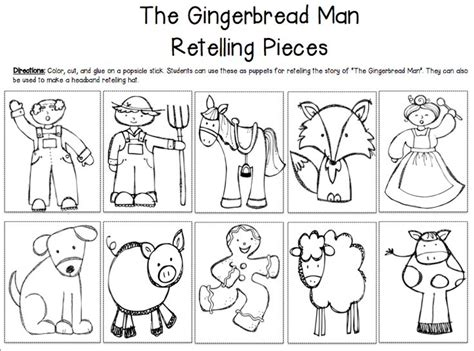gingerbread man printable activities for preschool best 25 gingerbread man story ideas on pinterest