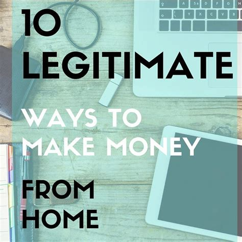 learn ten legitimate ways for stay at home or anyone