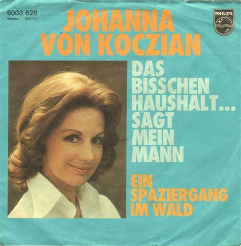 Johanna Koczian Das Bißchen Haushalt Sagt Mein Mann 5156 by Vinyl Shop Johanna Koczian Das Bisschen Haushalt